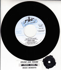 """PERRY COMO Round And Round & Magic Moments 7"""" 45 rpm record NEW + juke box strip"""