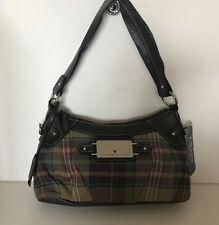 NEW! CHAPS RALPH LAUREN MONTMARTRE SERENGETI PLAID HOBO PURSE BAG $59 SALE