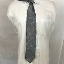 "Men's Italo Ferretti Silvi Marina  100% Silk Neck tie made in Italy 60"" x 3 3/4"""
