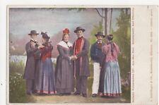 Badische Volkstrachten Aus Dem Reid Schutterwald U/B Postcard Germany 395a
