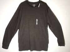 Old Navy Mens XXL Long Sleeve Classic Crew Brown