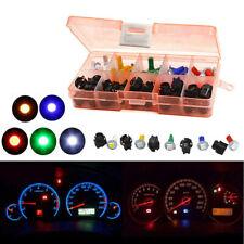 12V 30 Sets Car Dash Light T5 Instrument Panel Cluster Plug Mixed LED Lights Kit