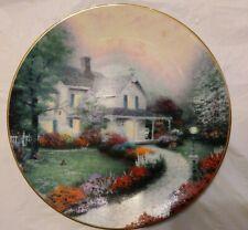 "Thomas Kinkade ""Home Sweet Home"" Knowles Bradex Plate"