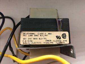 BASLER ELECTRIC BE19745001 TRANSFORMER 30VA 120V PRI 24VAC SEC