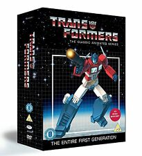 Transformers - Classic Animated Collection - DVD NEW & SEALED (13 Discs)