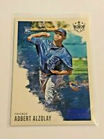 2020 Diamond Kings Baseball Blue Artist's Proof - Adbert Alzolay RC - Cubs
