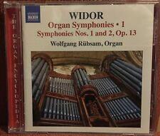 CD Orgel Organ Widor Symphonie 1 & 2 Wolfgang Rübsam Skinner 1928 IV/108 Chicago