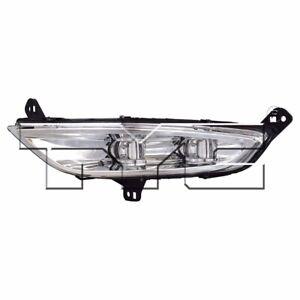 For 2015 Chrysler 200 LED Fog light lamp Driver Side LH (Chrome)