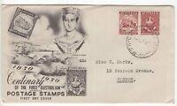 Australia 1950 Centenary FDC