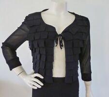 DIDIER PARAKIAN BOLERO Black Jacket Size 42 fit 12 - 14