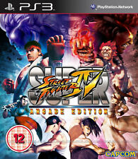 Super Street Fighter 4-Arcade Edition ps3 * in Top Zustand *