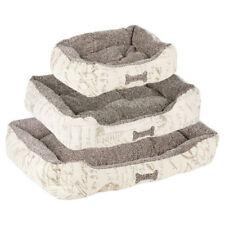 Couchage, paniers et corbeilles coussins gris polaire pour chien