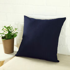 Solid Suede Nap Cushion Cover Home Decor Bed Sofa Throw Pillow Case 45x45cm