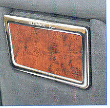 MERCEDES W210 E CLASS WALNUT WOOD ASHTRAY COVER WITH CHROME SURROUND 95-02