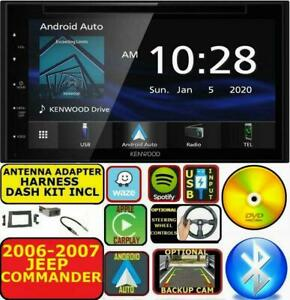 2006 2007 JEEP COMMANDER NAVIGATION BLUETOOTH CD/DVD USB AUX CAR RADIO STEREO