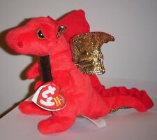Ty Beanie Baby ~ LEGEND the Red Dragon ~ MINT with MINT TAGS ~ RETIRED