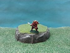 D&D or Pathfinder miniature hand painted Fiend with great axe