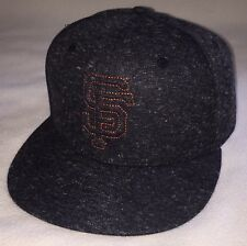 New San Francisco Giants Snapback Baseball Cap Hat Dark Grey Dignity Health SGA