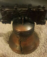 Quality Vintage Bronze Handheld Usa Liberty Bell replica