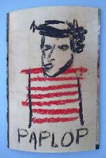 vintage Jean-Michel Basquiat NYC 1980 authentic Graffiti postcard Pablo Picasso