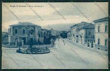 Firenze Borgo San Lorenzo cartolina EE5996