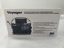 Voyager KA500 Solar & Crank Weather alert Multiband radio w/ Cell phone charger