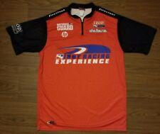 DyeSport Indy Car Pit Crew Firestone National Guard Half Zip Jersey Shirt Large