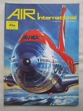AIR INTERNATIONAL 10/1976 DISPLAY FLYING TEAM BOEING 747 JAGUAR KAWASAKI KI-100