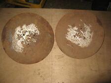 wolseley merry tiller discs  crop protectors