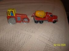 TOOTSIE TOY CEMENT MIXER & DINKY  ROAD PACKER