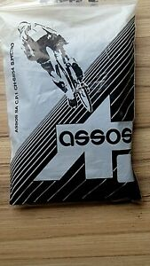 ASSOS BLACK ROUBAIX THERMAL ARM WARMERS WITH GRIPS SIZE 1 RRP £49.95 REAL ASSOS!