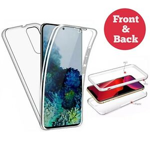 360 Case For Huawei P40 P30 Pro Lite Shockproof TPU Full Body Clear Cover