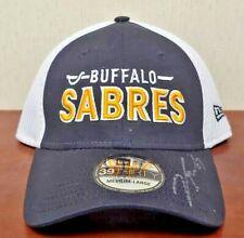 NEW Buffalo Sabres NHL Hockey Hat Cap Medium Large Fitted 39Thirty New Era