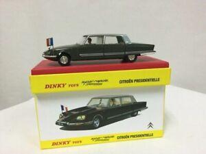 Dinky Toys 1435 - Citroen Ds Présidentielle 1970 1:43, Atlas 2267041