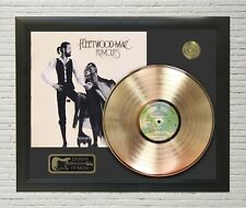 "Fleetwood Mac Framed wood Legends Of Music Lp Record Display. ""C3"""