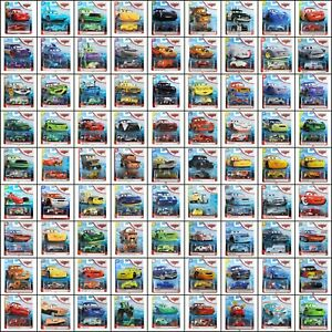 Disney Pixar Cars 2020 Mattel 1:55 Scale Diecast Assortment Choose