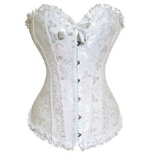 Plus size waist training corsets Basques corset top lace bustier womens Lingerie