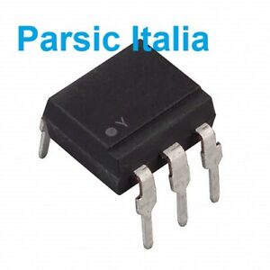 3SD21 PC3SD21NTZ  IC Optocoupler Triac AC-OUT 1-CH 600V 5-DIP (QTY: 5 PEZZI )