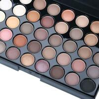 Cosmetic Matte Eyeshadow Cream Makeup Palette Sparkling Set 40 Colors