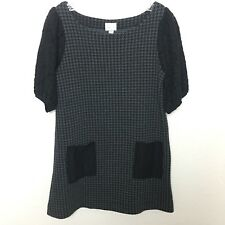anthropologie postmark Staccato Tunic Dress Lace Pockets