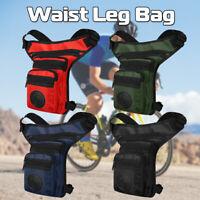 Men Tactical Outdoor Camping Fanny Pack Thigh Drop Leg Bag Motorcycle Rider