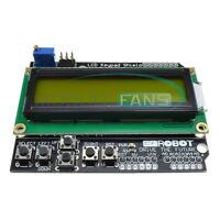 Yellow Backlight 1602 LCD Board Keypad Shield for Arduino LCD ATMEGA328 2560