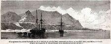 Garibaldi:Sbarco in Calabria Capo dell'Armi.Stretto di Messina.Risorgimento.1860