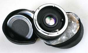7 ELEMENT 2X TELECONVERTER FOR CANON FD MOUNT IN CASE