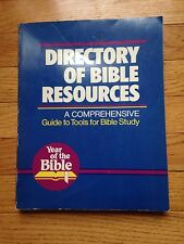 The Directory of Bible Resources (1983, Paperback)