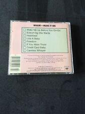 *RARE CANADIAN CD*Make It Big~Wham! (George Michael)