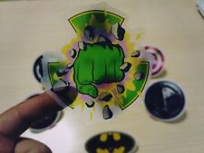 Hulk Thor batman Wall Decal Birthday candy bag Greeting invitation card.seals 3