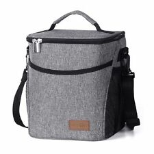 Tote Cold Insulated Thermal Cooler Travel Picnic School Lunch Box Bag Waterproof