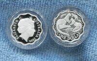 2004 Silver Proof $1 Coin Scalloped Kangaroo ex Masterpieces Set