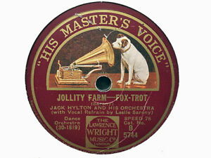 JACK HYLTON - Jollity Farm / On Her Doorstep Last Night 78 rpm disc (A++)